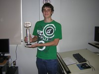 Paul Thom, 4th Nationally,Baltimore, 2010, 9th Nationally, Nashville, 2012  3D Engineering CAD