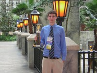 Mike Scharf, 3rd Place National.  First student in SLSD history to place in top three nation, 2011.